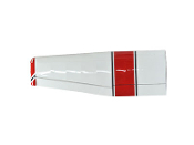 "ESM Cessna 185 Skywagon 86.6"" Color A Red/Black Left wing"