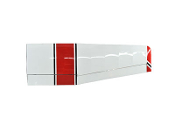 "ESM Cessna 185 Skywagon 86.6"" Color A Red/Black Right wing"