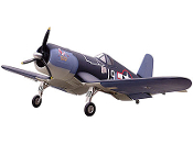 "ESM F4U Corsair 85"" Wingspan 50cc RC Model Airplane"