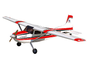 ESM Cessna 185 Color A Red/Black 86.6