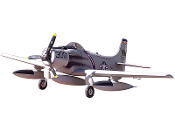 "ESM A1 Skyraider Color B Grey 71"" Wingspan Model ARF warbird"