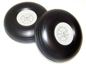 "5"" rubber tires - pair"