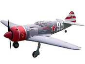 "ESM Lavochkin LA-7 Color F 80"" Wingspan Model ARF"
